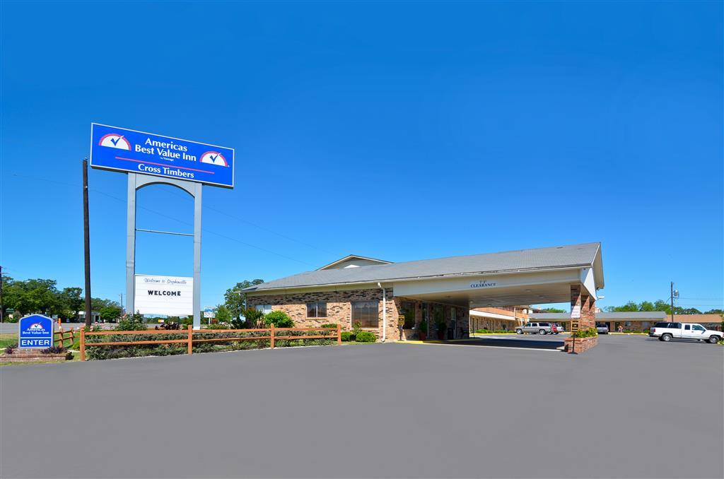 Americas Best Value Inn Stephenville Stephenville Tx Hotels Tourist Class Hotels In