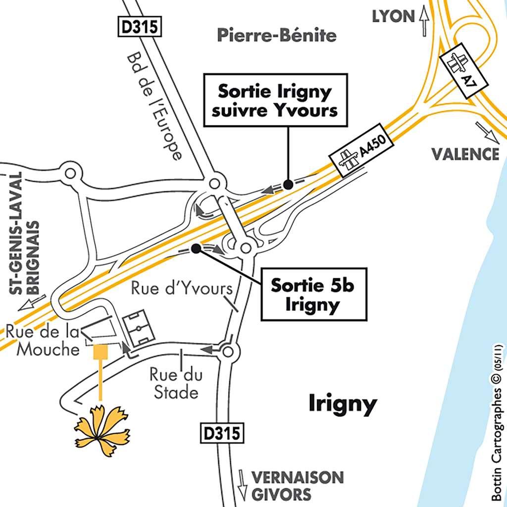 Première Classe LYON SUD - Pierre Bénite