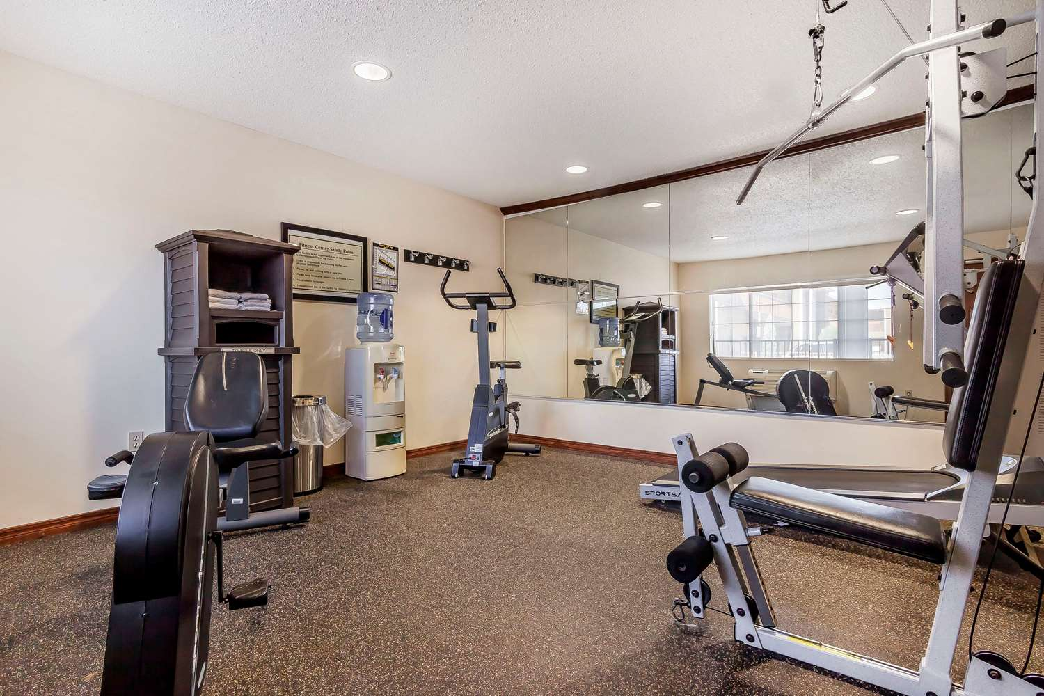 Fitness/ Exercise Room - Quality Inn & Suites Owasso