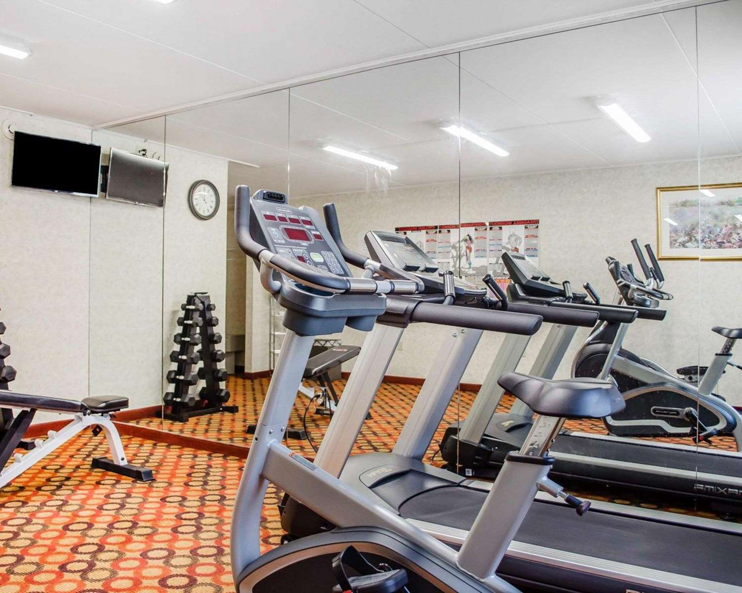 Fitness/ Exercise Room - Quality Inn Riverview Enola