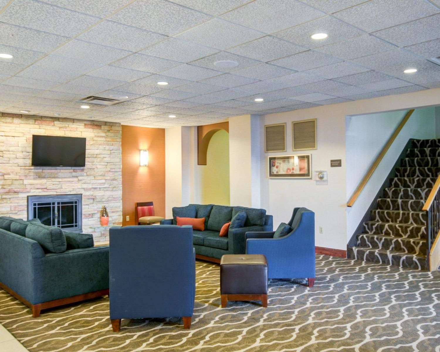 Lobby - Comfort Inn Greencastle