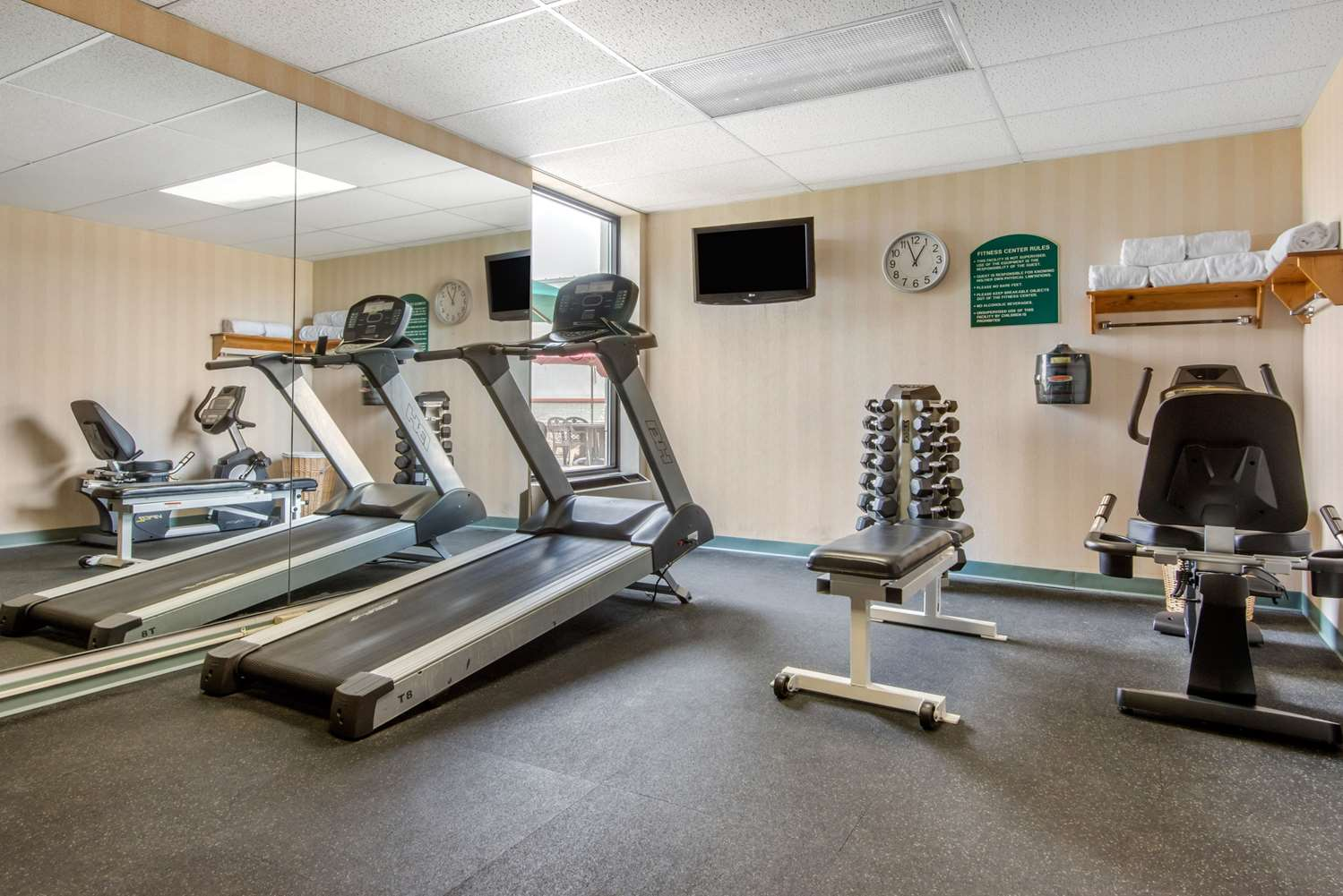 Fitness/ Exercise Room - Quality Inn & Suites Mansfield