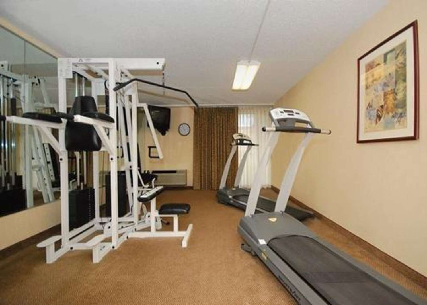 Fitness/ Exercise Room - Quality Inn & Suites Danville