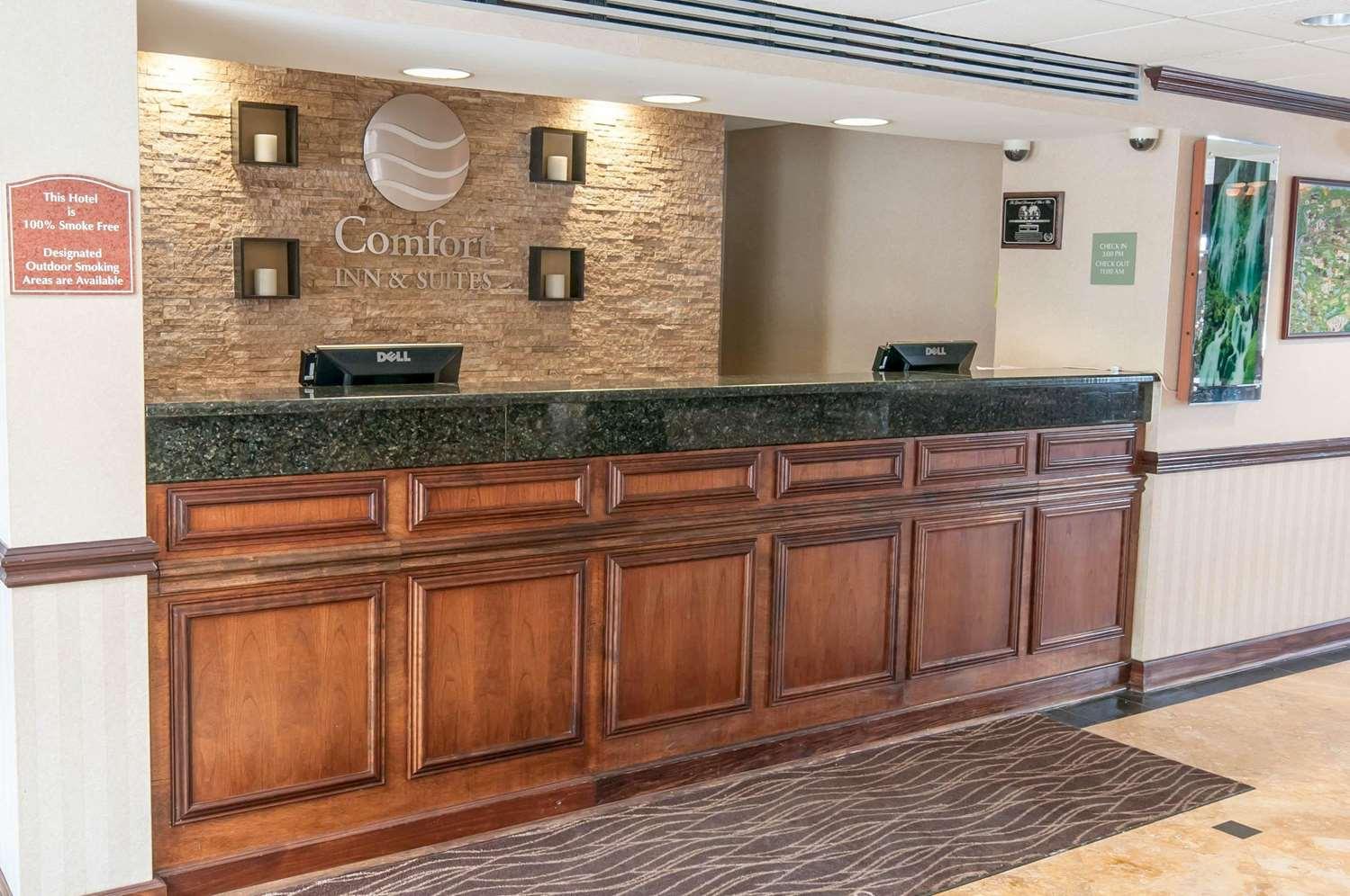 Lobby - Comfort Inn & Suites Mount Pocono