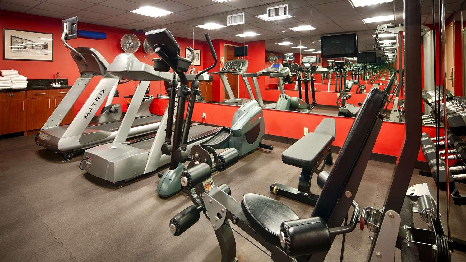 Fitness/ Exercise Room - Best Western Plus White Bear Country Inn