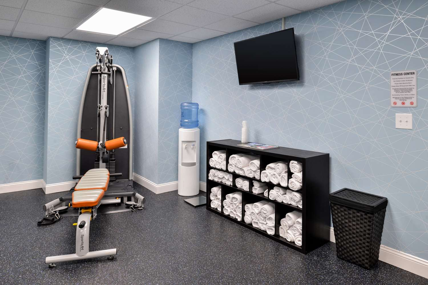 Fitness/ Exercise Room - Quality Inn University Center Pittsburgh