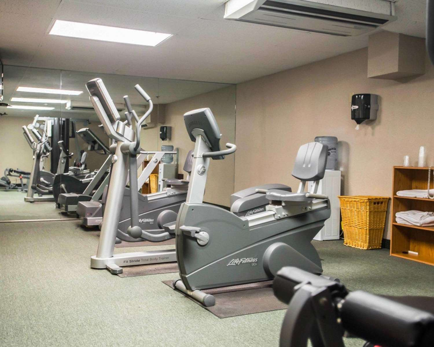 Fitness/ Exercise Room - Quality Inn New Columbia