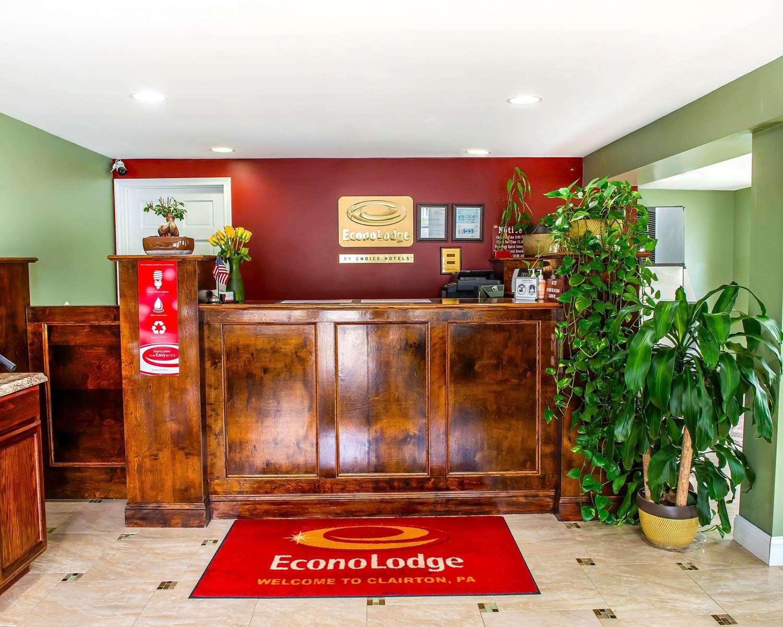 Lobby - Econo Lodge Jefferson Hills