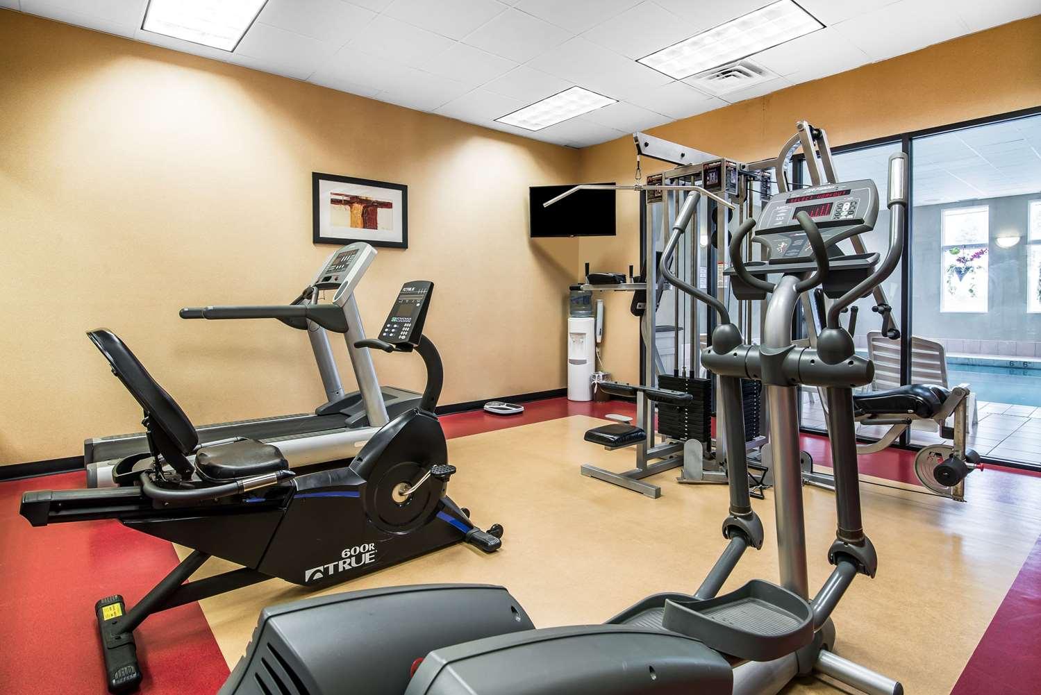 Fitness/ Exercise Room - Comfort Inn Towanda