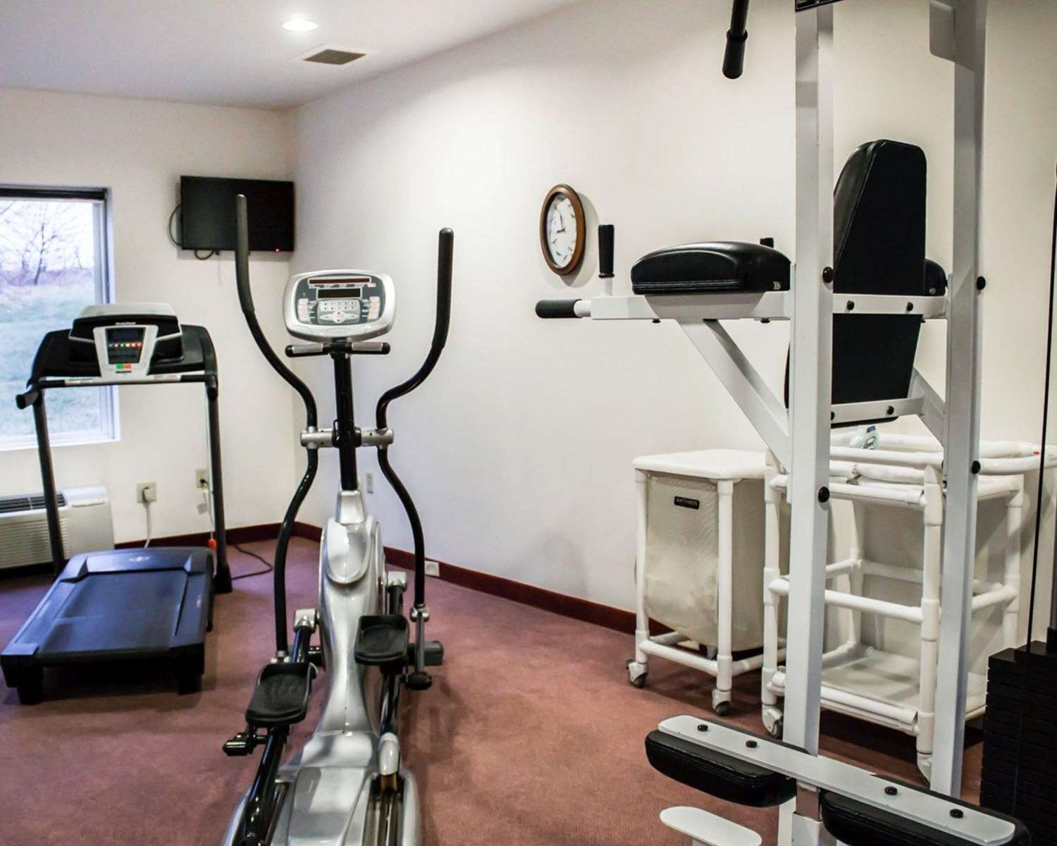 Fitness/ Exercise Room - Quality Inn & Suites Chambersburg