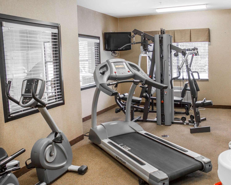 Fitness/ Exercise Room - Comfort Suites Lewisburg