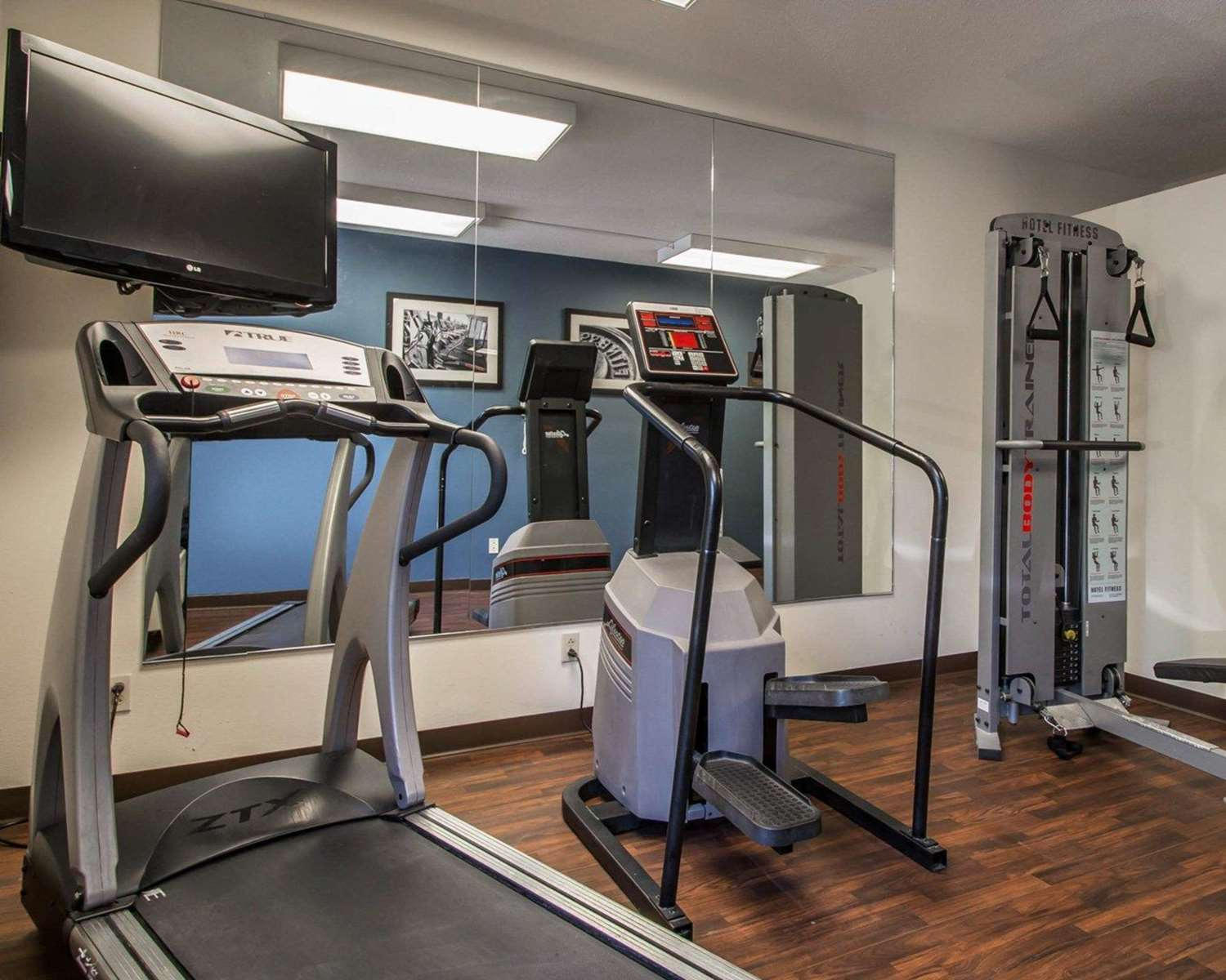 Fitness/ Exercise Room - Quality Inn & Suites Morrisville