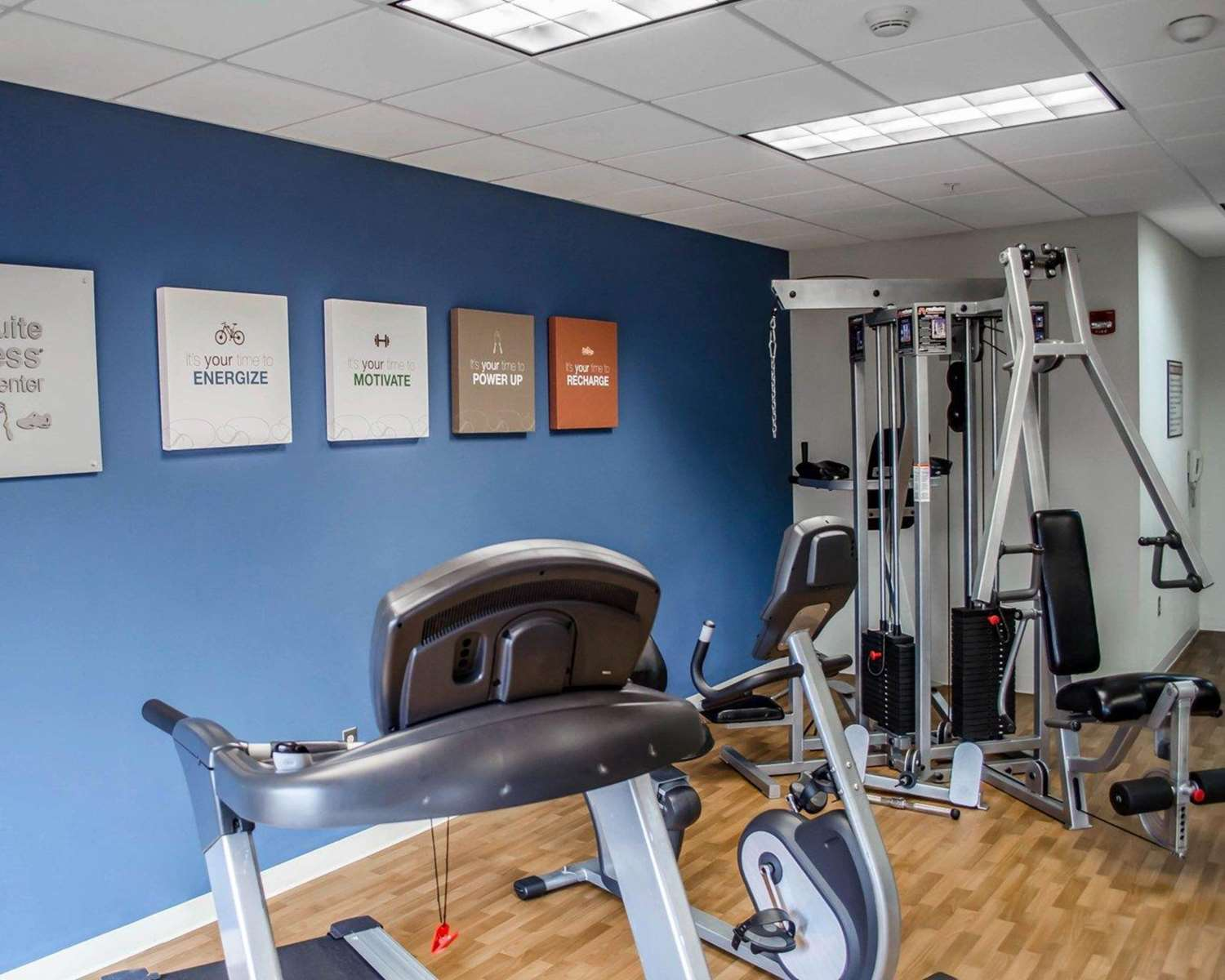 Fitness/ Exercise Room - Comfort Suites Hummelstown