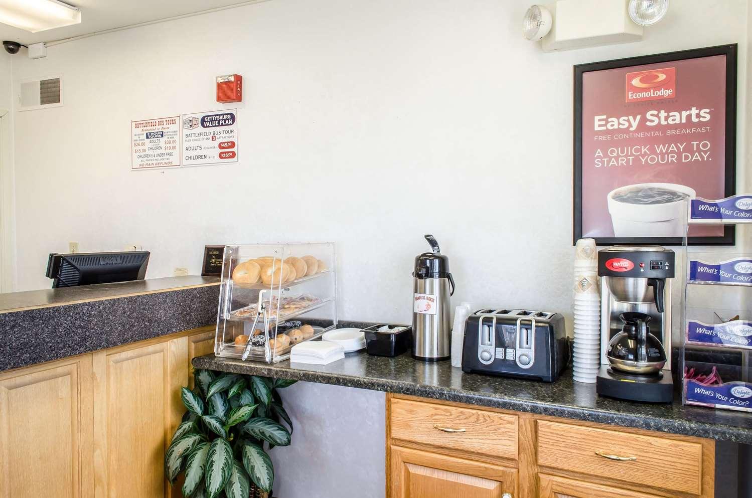 Restaurant - Econo Lodge Gettysburg