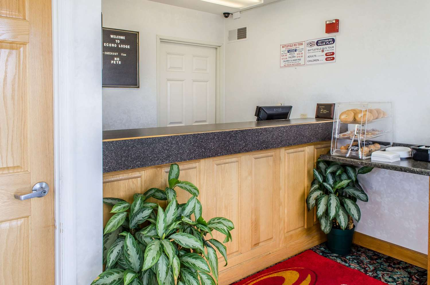 Lobby - Econo Lodge Gettysburg