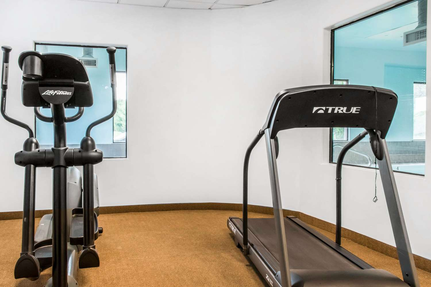 Fitness/ Exercise Room - Comfort Inn Mifflinville