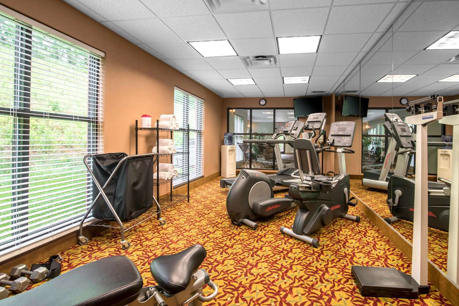 Fitness/ Exercise Room - Comfort Inn & Suites Tunkhannock