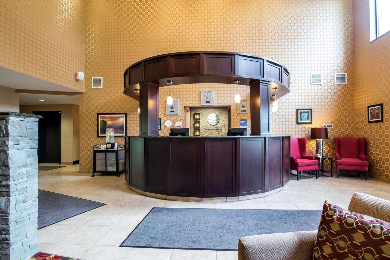 Lobby - Comfort Inn & Suites Tunkhannock
