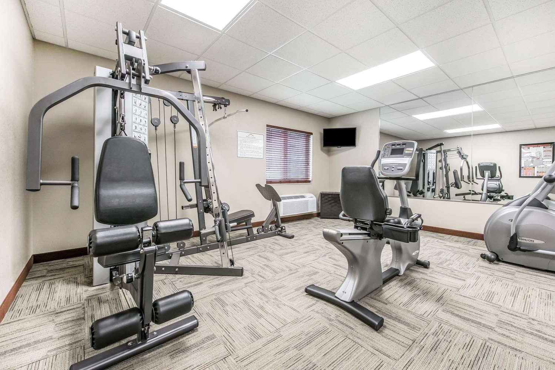 Fitness/ Exercise Room - Suburban Extended Stay Hotel West Washington