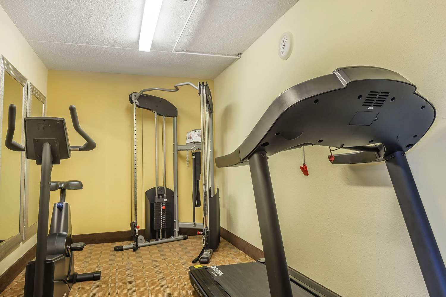 Fitness/ Exercise Room - Quality Inn & Suites Harmarville