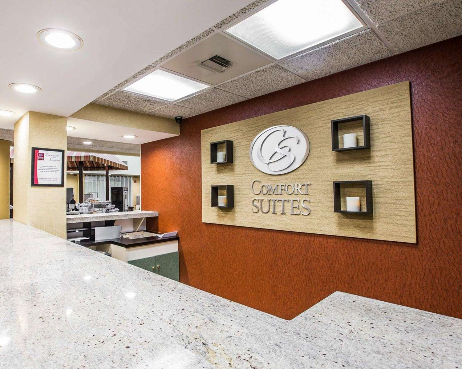 Lobby - Comfort Suites Anderson