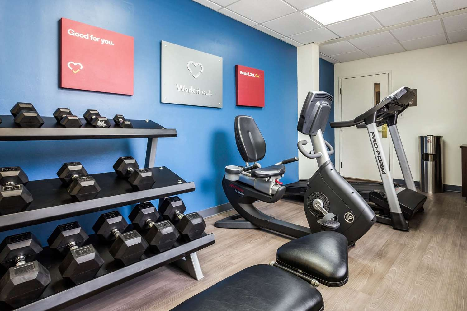 Fitness/ Exercise Room - Comfort Suites Conway