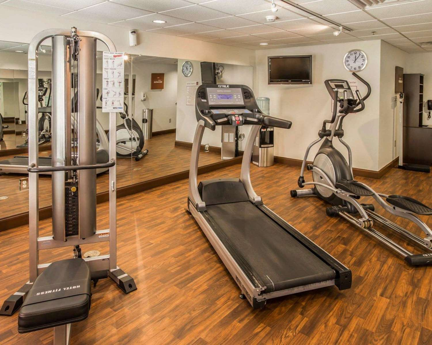 Fitness/ Exercise Room - Comfort Suites at WestGate Mall Spartanburg
