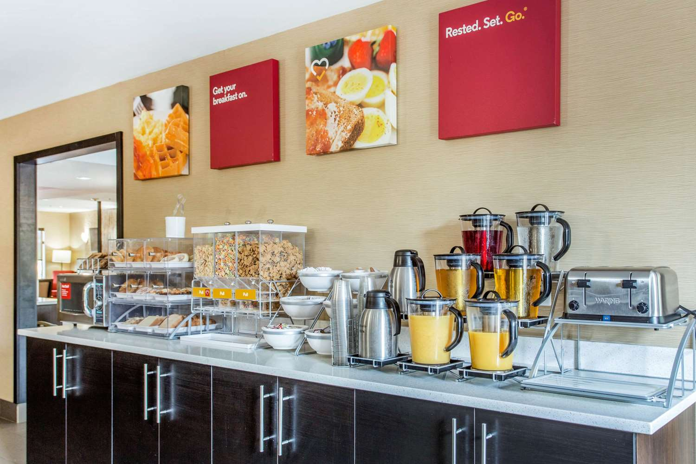 Restaurant - Comfort Suites Clinton