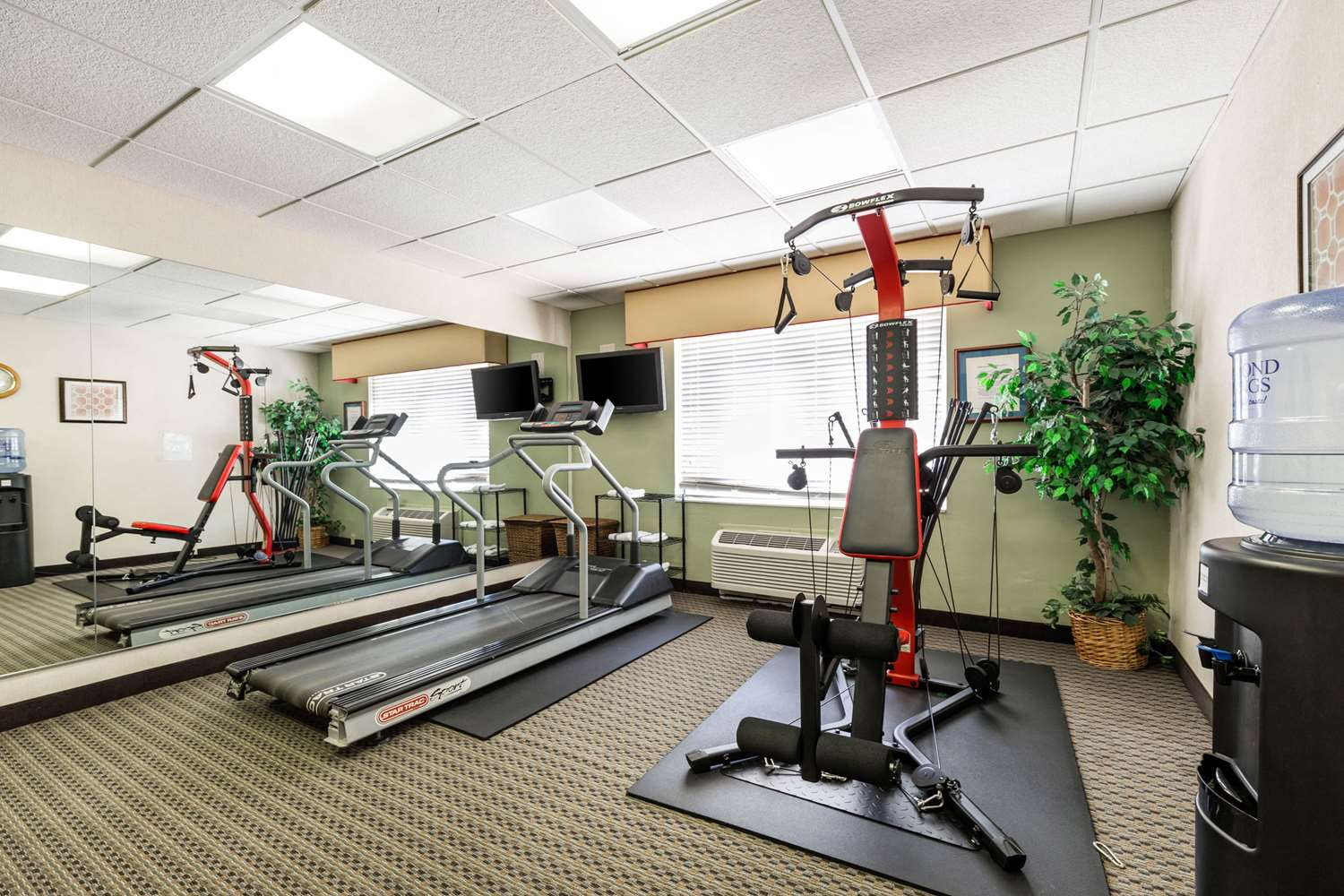 Fitness/ Exercise Room - Quality Inn & Suites Spartanburg