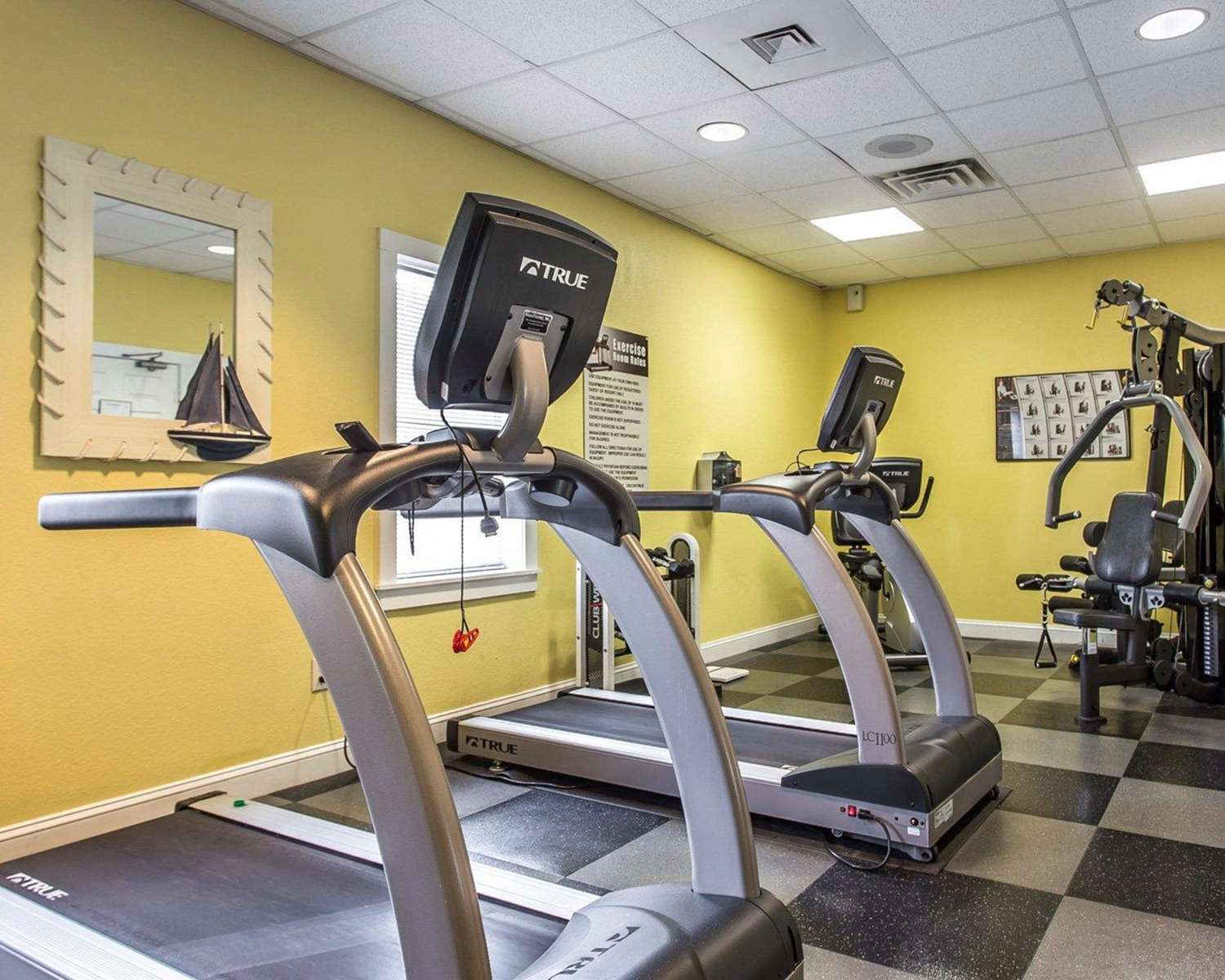 Fitness/ Exercise Room - Bluegreen Vacations Harbor Lights Resort Myrtle Beach
