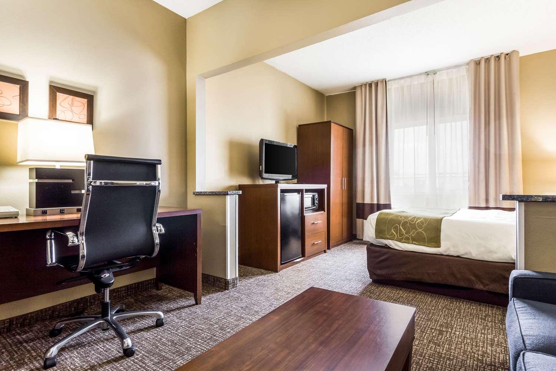 Room - Comfort Suites Sioux Falls