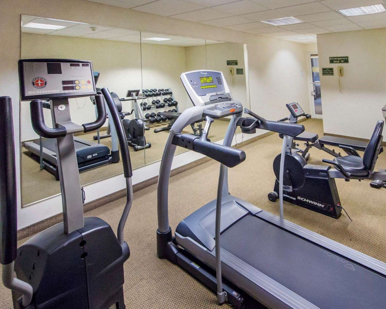 Fitness/ Exercise Room - Comfort Inn Deadwood