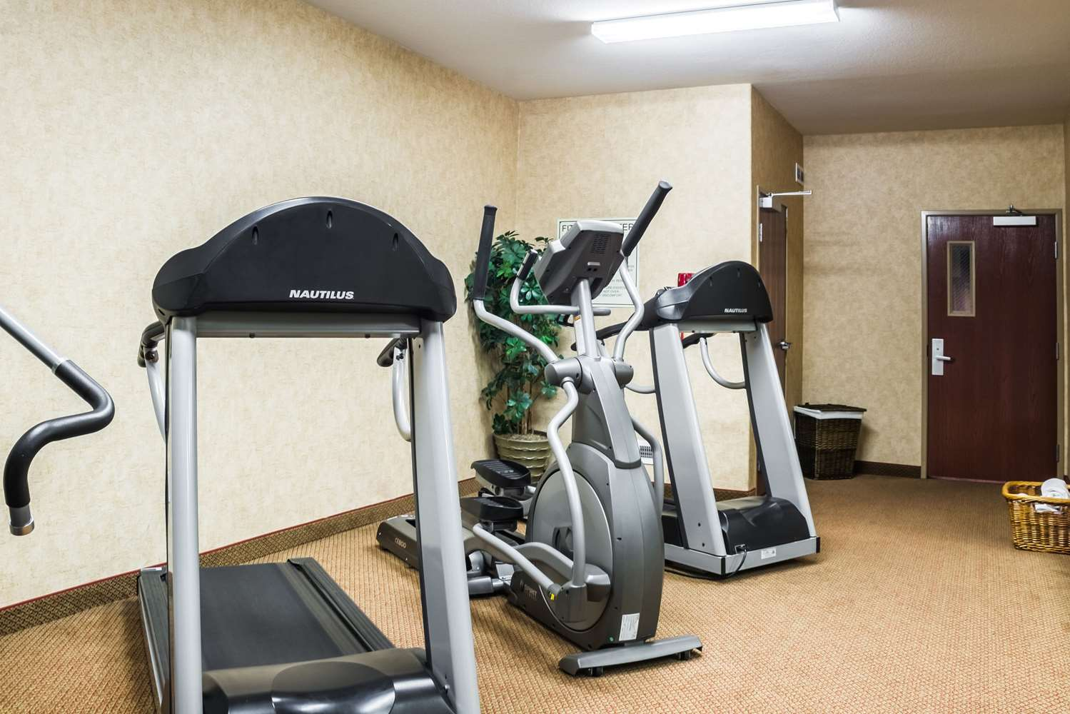 Fitness/ Exercise Room - Quality Inn & Suites Sioux Falls