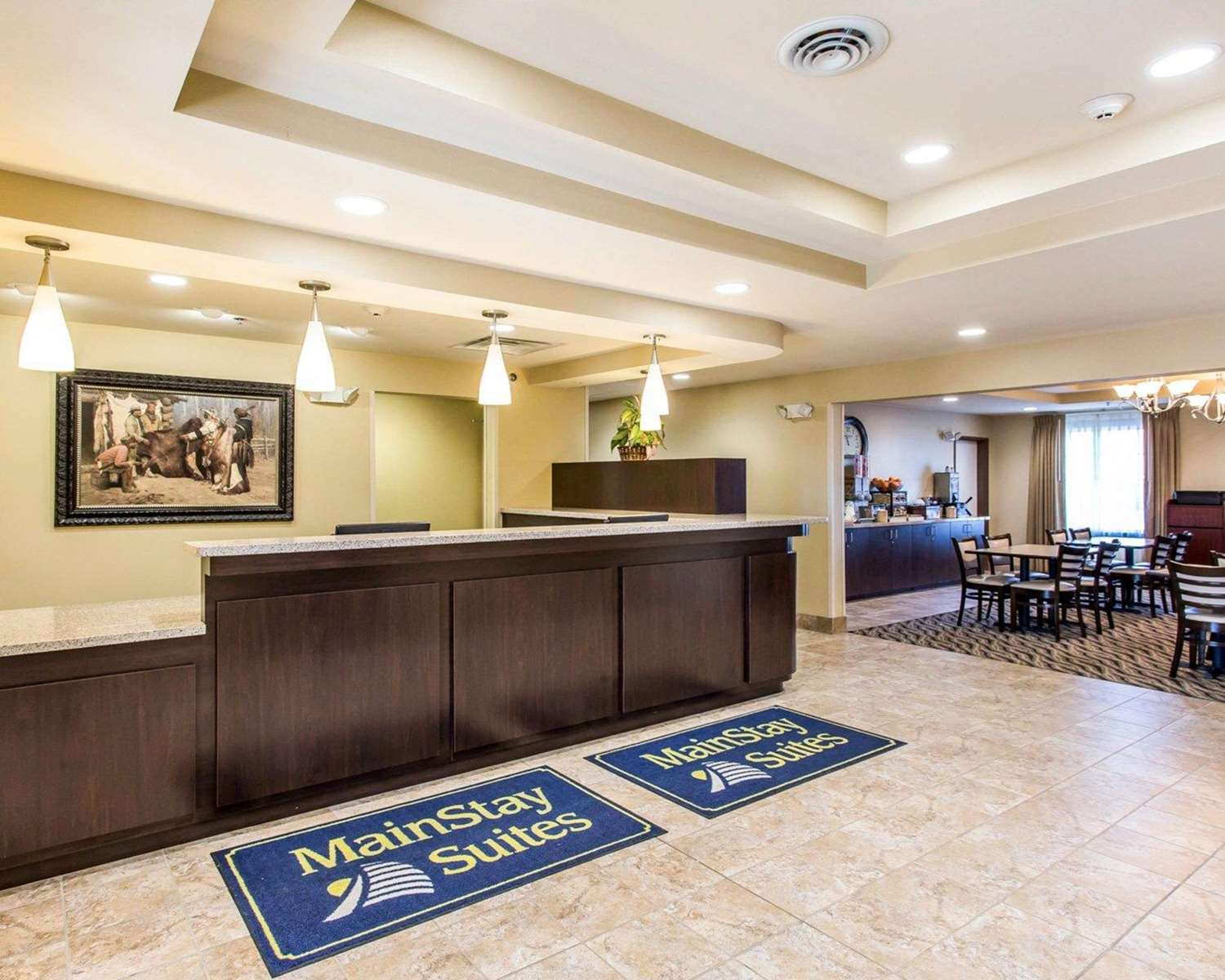 Lobby - MainStay Suites Rapid City