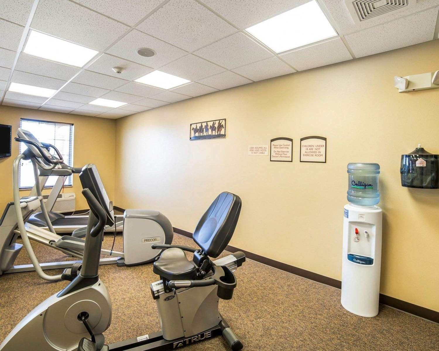 Fitness/ Exercise Room - MainStay Suites Rapid City