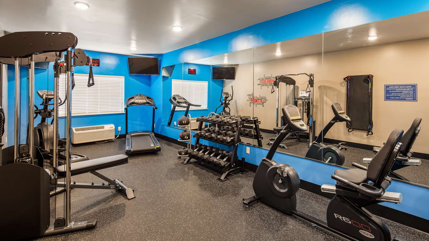 Fitness/ Exercise Room - Best Western Greeley Hotel