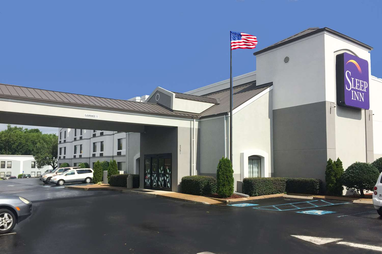 Exterior view - Sleep Inn Chattanooga