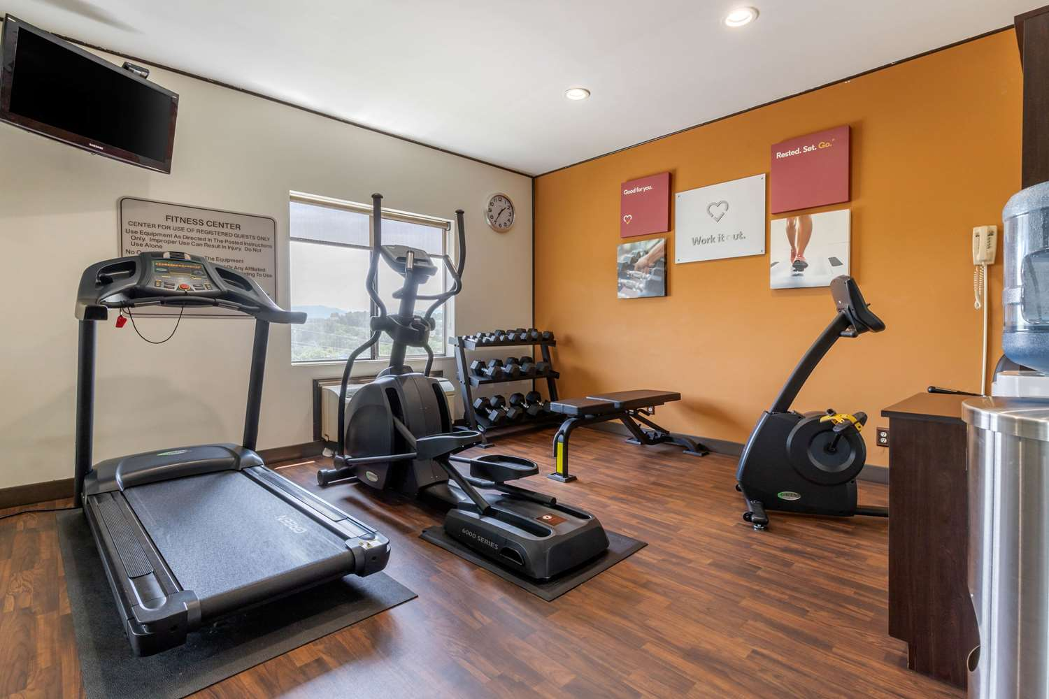 Fitness/ Exercise Room - Comfort Suites Johnson City