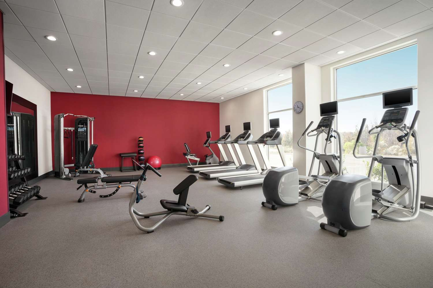 Fitness/ Exercise Room - Homewood Suites by Hilton Civic Center Florence