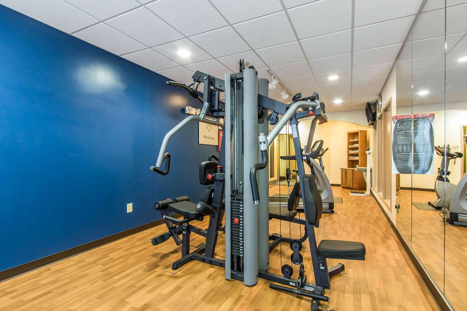 Fitness/ Exercise Room - Comfort Suites Smyrna