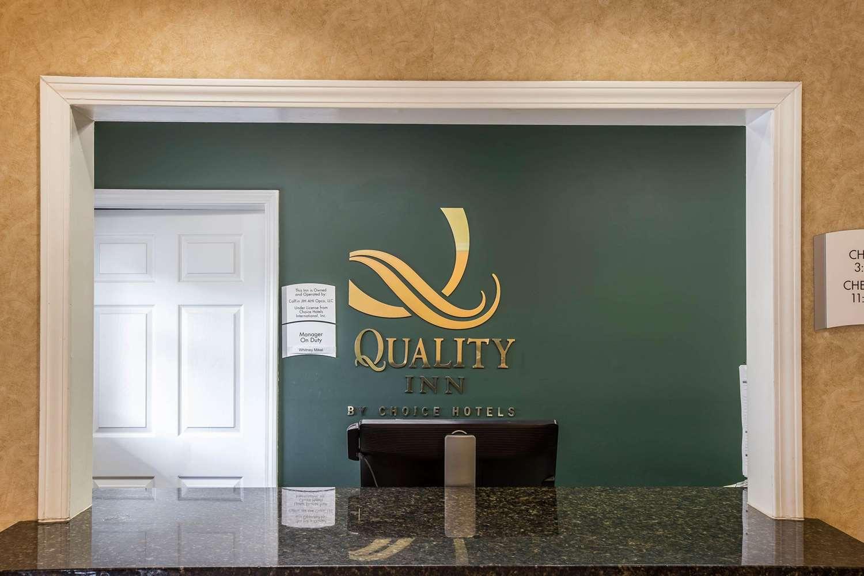 Lobby - Quality Inn Johnson City
