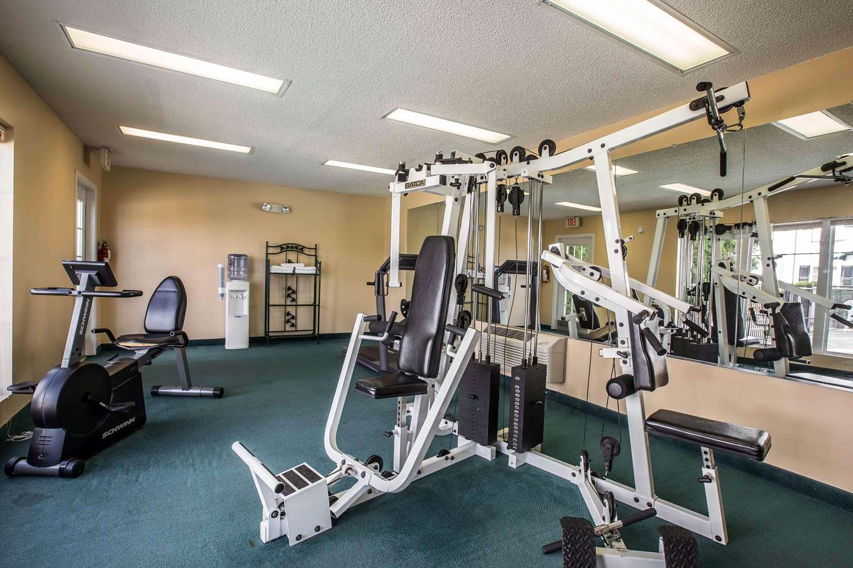 Fitness/ Exercise Room - Quality Inn Kingsport