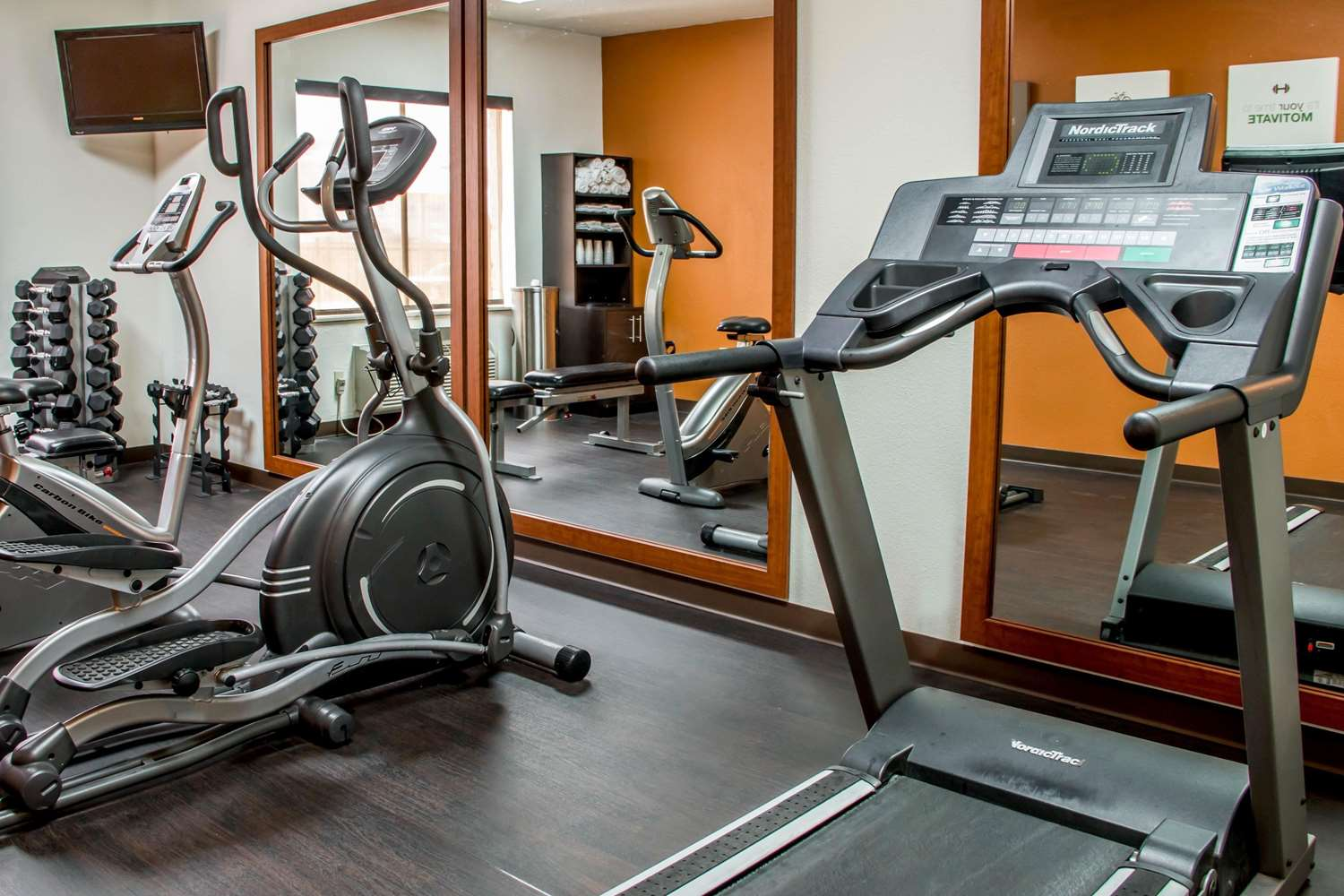 Fitness/ Exercise Room - Comfort Suites New Braunfels