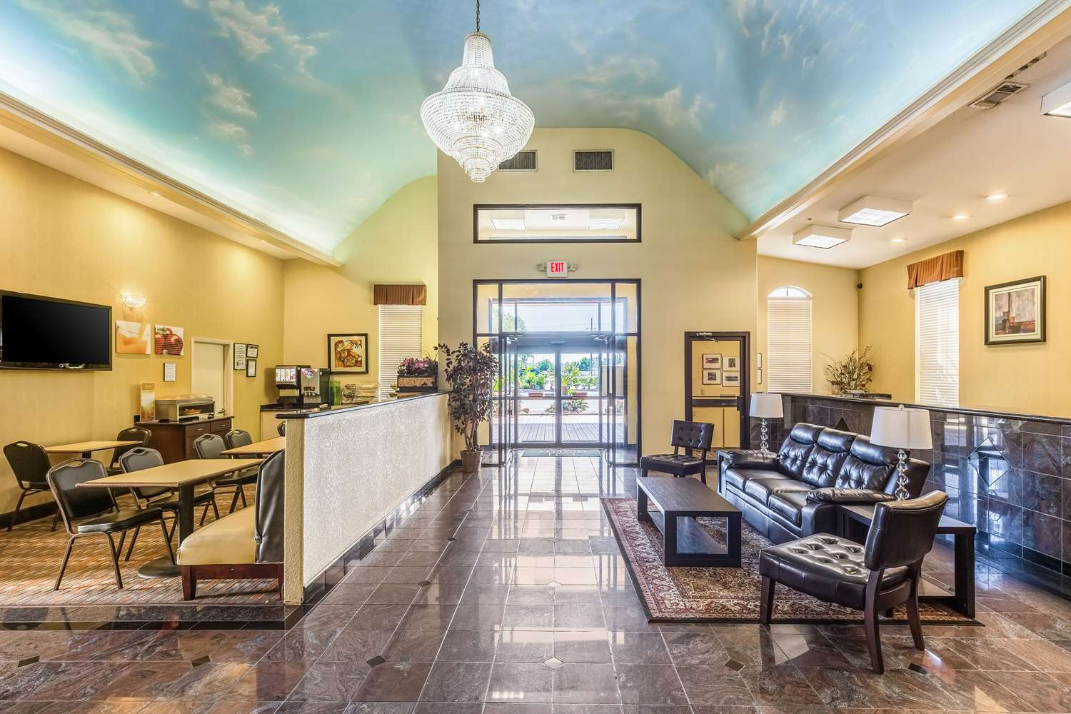 Lobby - Quality Suites North Houston