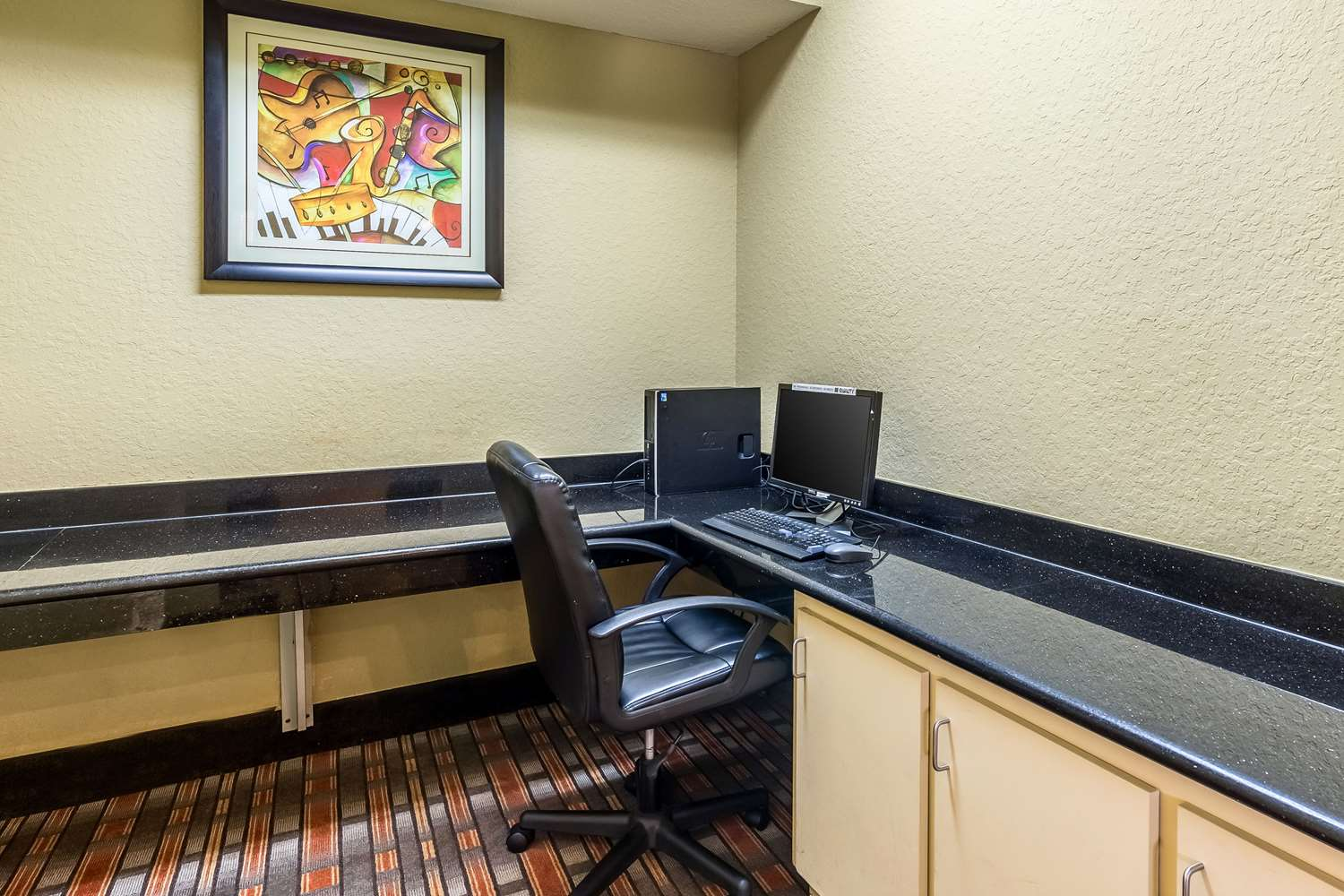 Conference Area - Quality Suites North Houston