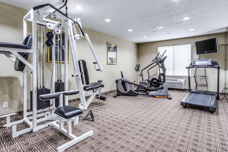 Fitness/ Exercise Room - Comfort Inn & Suites Market Center Dallas
