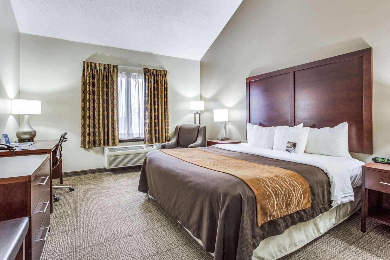 Room - Comfort Inn & Suites Market Center Dallas