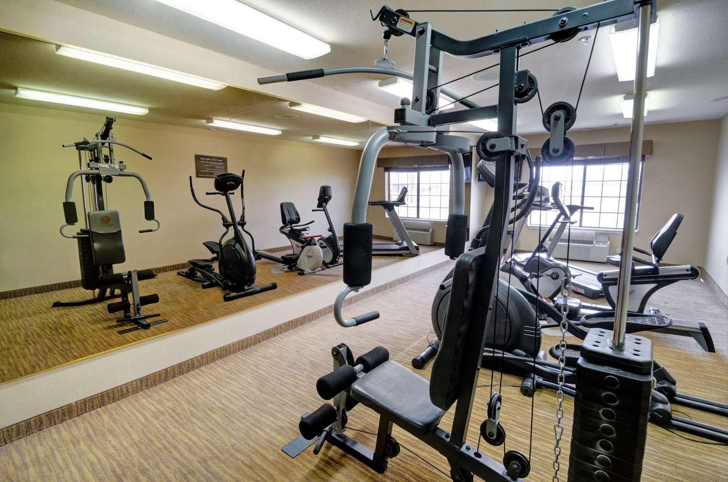 Fitness/ Exercise Room - Comfort Inn & Suites Amarillo