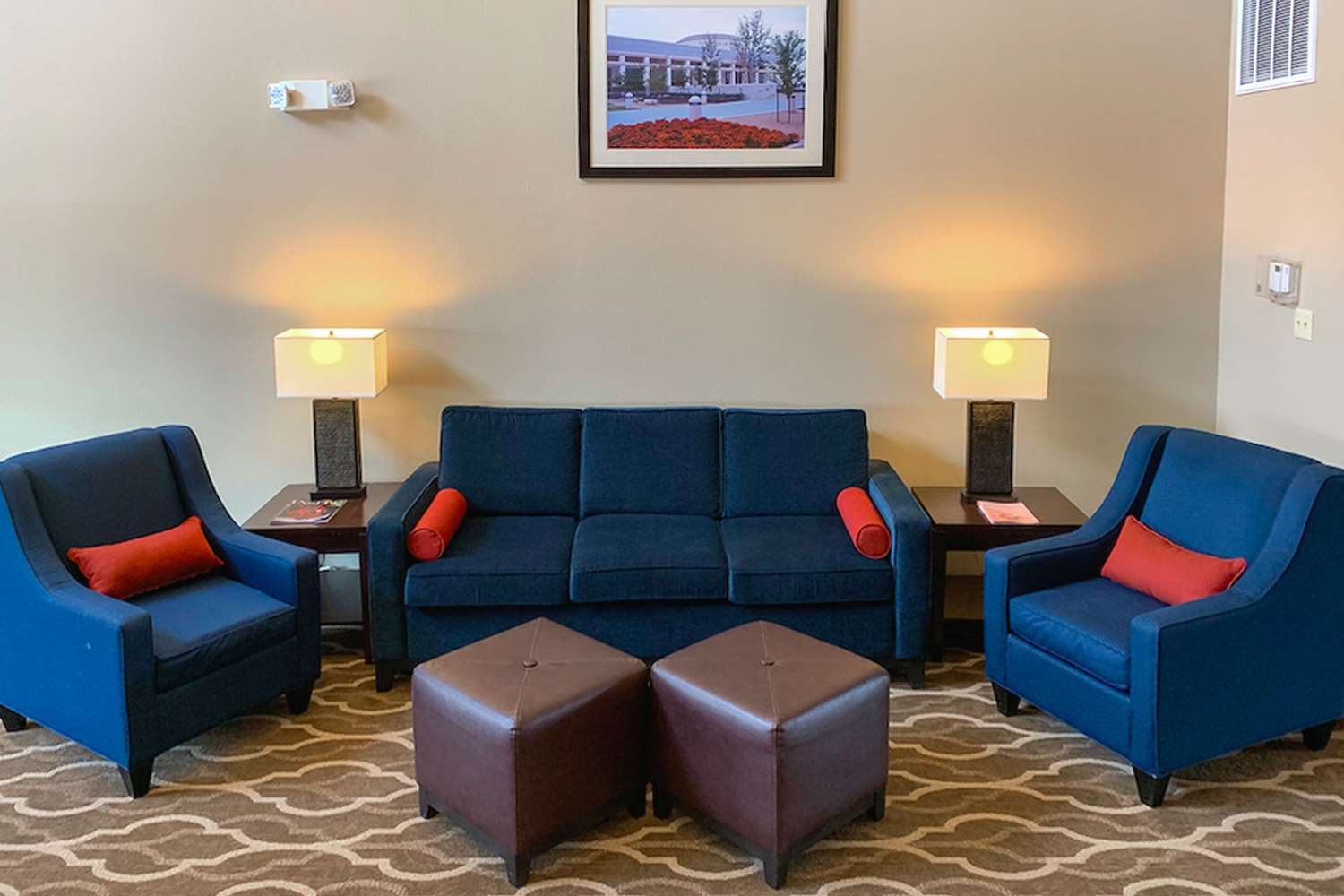 Lobby - Comfort Suites Aggieland College Station