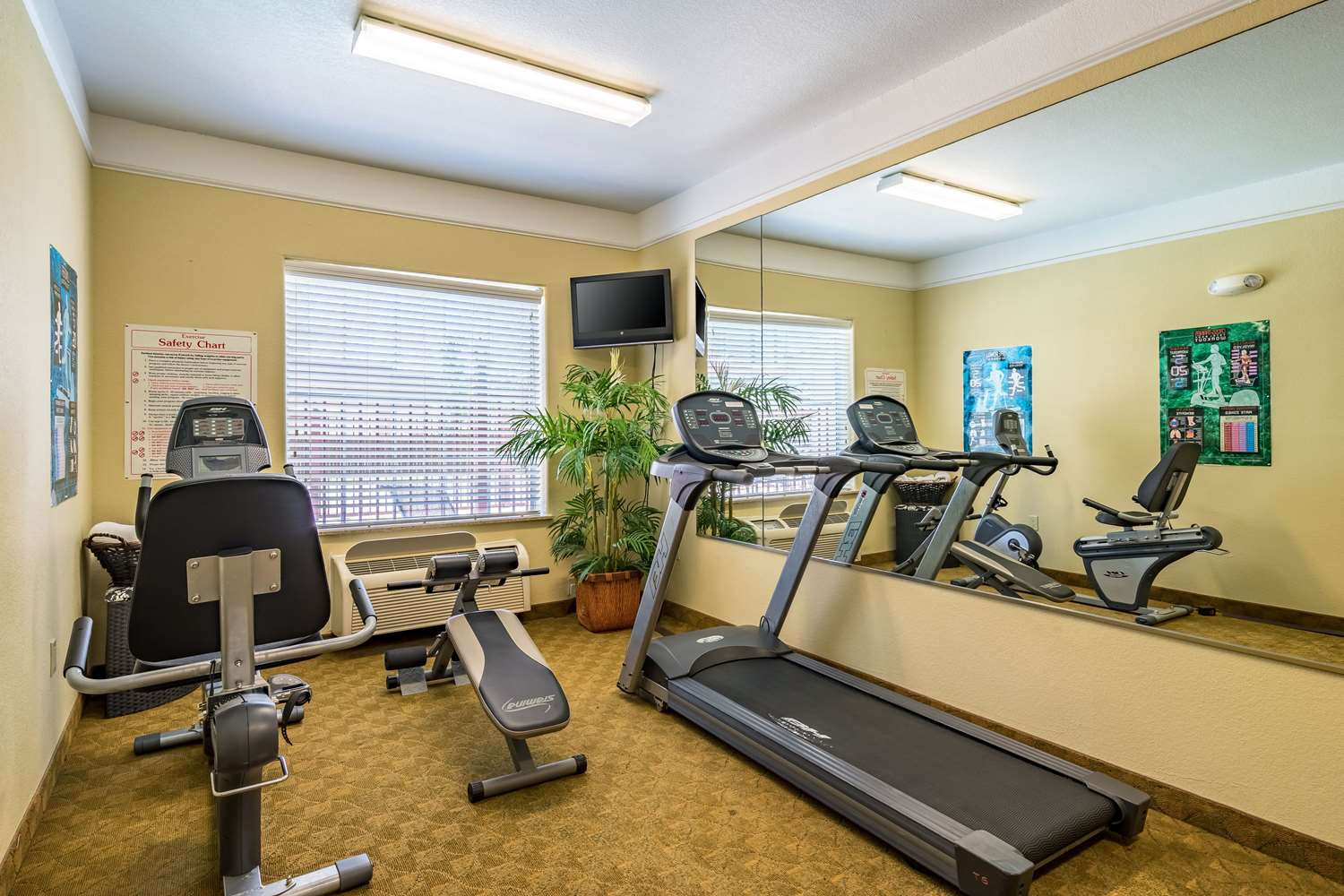 Fitness/ Exercise Room - Econo Lodge Inn & Suites New Braunfels